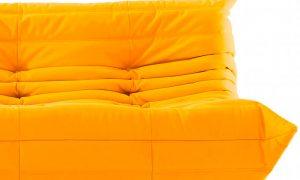 canape jaune moderne