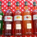 Sirops, Pomme, framboise, peches, fruit de la passio, orange, Institut Français, boissons, pois, rouge