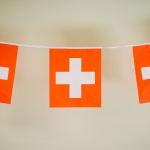 Croix suisse, Rouge, Suisse, Drapeau, Institut Français