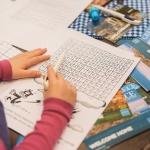 mots croisés, jeux, enfants, étude, culture, amusant, Institut Français