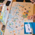 puzzle, enfants, carte, France, jeux, amusant, Institut Français,