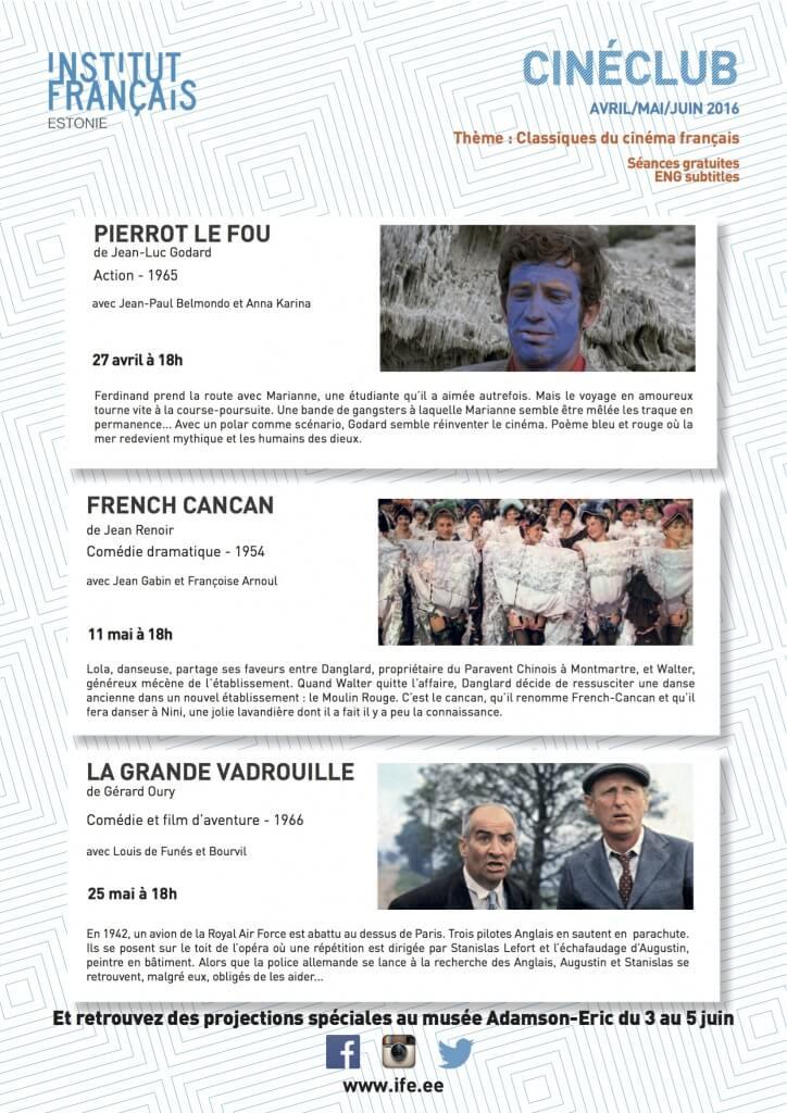 affiche finale Cinéclub