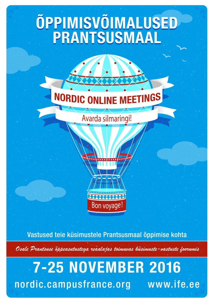 Affiche Nordic Online Meetings