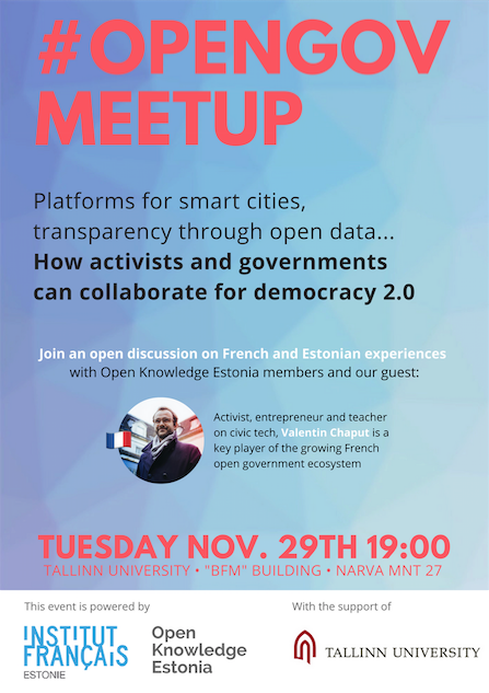 Opengov meetup