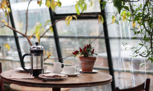 prantsuse keele kohvik