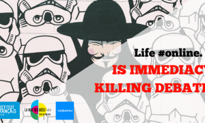Life #online. Is Immediacy Killing Debate?