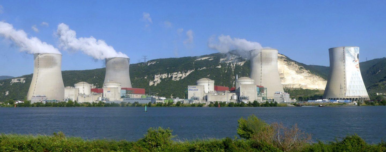 Centrale nucléaire de Cruas en France en 2018