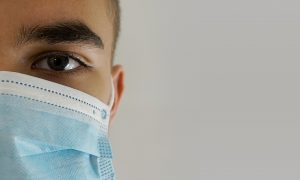 french student covid coronavirus mask protection self-isolation university