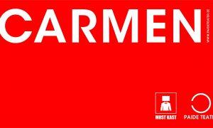 Bizet Carmen Paide Teater Must Kast