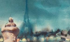 Eesti kunstnikud Pariisis