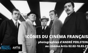 Icônes du cinéma français : photographies d'André Perlstein
